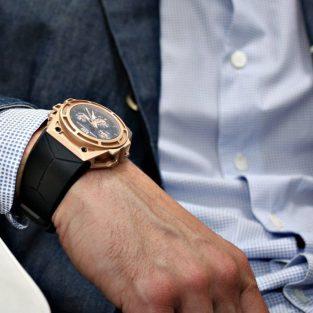 """5 mẫu đồng hồ nam cao cấp phối """"vàng đen"""" tuyệt đẹp"""