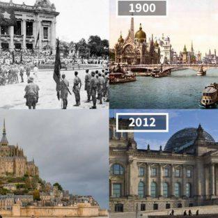 33 hình ảnh thế giới tuyệt đẹp của quá khứ và hiện tại