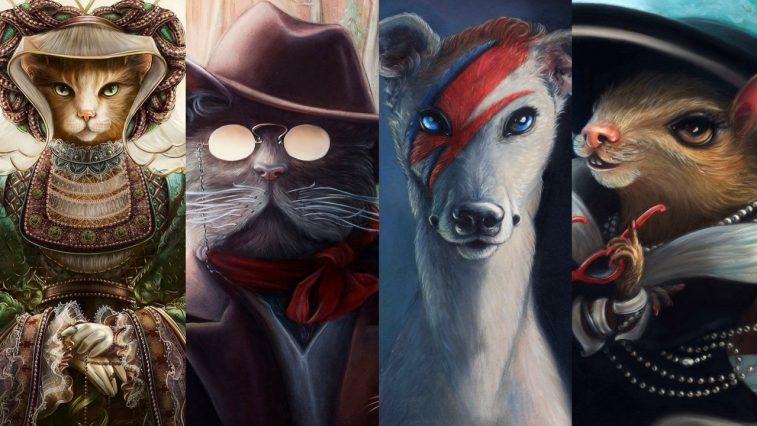 Bộ lịch người nổi tiếng trong lịch sử được lấy cảm hứng từ động vật