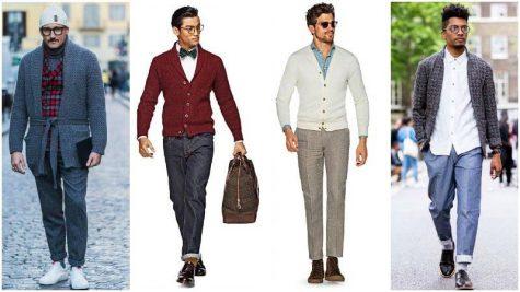 Cách phối hợp với áo khoác cardigan mà vẫn trông thật trẻ trung