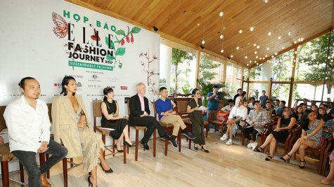ELLE Việt Nam tổ chức họp báo ELLE Fashion Journey 2017: Thời trang bền vững