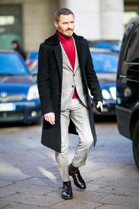 ELLE Man Style Calendar Đa phong cách với áo len cổ lọ (412 – 10122017) elle man14