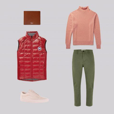 ELLE Man Style Calendar Đa phong cách với áo len cổ lọ (412 – 10122017) elle man2