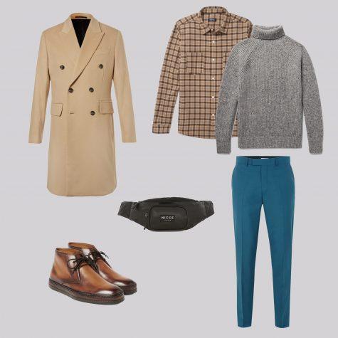 ELLE Man Style Calendar Đa phong cách với áo len cổ lọ (412 – 10122017) elle man7