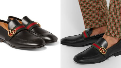 thoi trang nam - giay loafers Gucci - elle man 1.1
