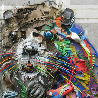 7 tác phẩm nghệ thuật đường phố nổi bật nhất tháng 11/2017