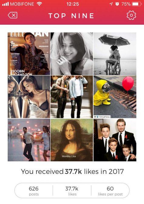ung dung top 9 tai khoan instagram - elle man 1