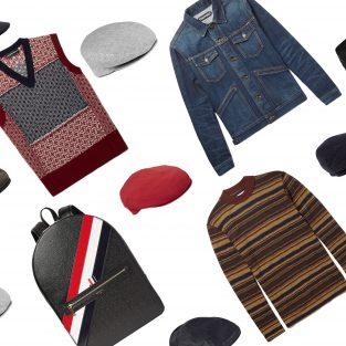ELLE Man Style Calendar: Ngẫu hứng giao mùa với mũ Beret (11/12 – 17/12/2017)