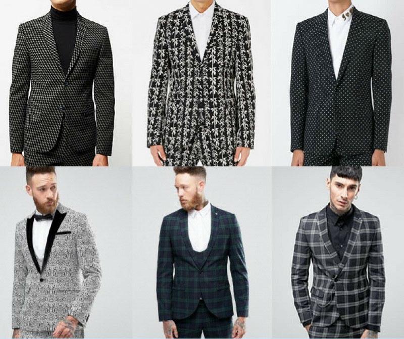 Làm thế nào để mặc những bộ suits nam hoạ tiết để trông không lố lăng?