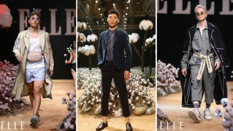 Những bộ trang phục thời trang nam ấn tượng trên sàn diễn ELLE Fashion Show 2017