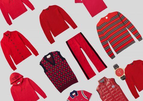 ELLE Man Style Calendar: Phối đồ phong cách với gam màu đỏ (18/12 – 24/12/2017)