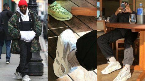 Kanye West lộ diện thiết kế giày Yeezy hoàn toàn mới