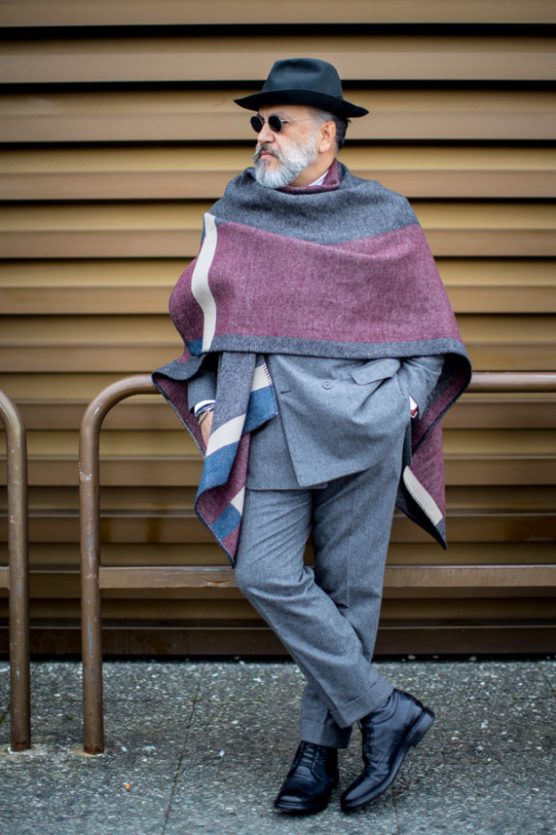 ELLE Man Style Calendar biến hóa với khăn qoàng cổ (2512 – 31122017)90