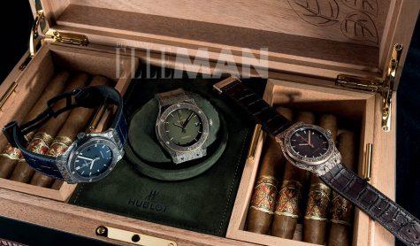"""Đồng hồ Hublot: """"Tận hưởng cuộc sống từng giây một"""""""