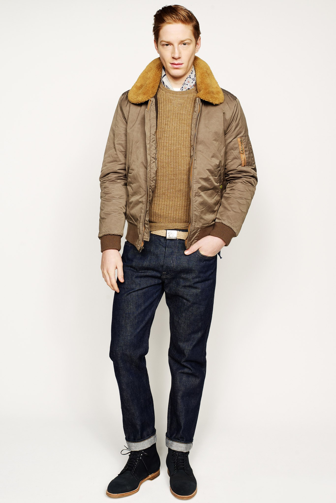ELLE Man Style Calendar trẻ trung với vải dệt kim (11 – 712018) elleman 5