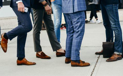 Quý ông, hãy lắng nghe những đôi giày tây nam!