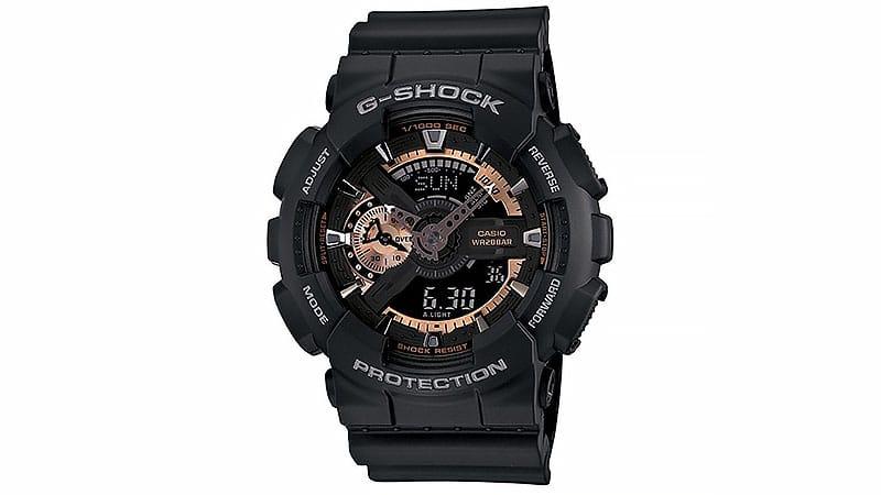 Dong ho nam -Casio-Mens-GA110RG-1A-G-Shock-Black-Watch-1- elle man