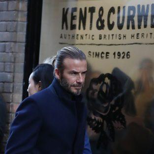 David Beckham mang thương hiệu đến Tuần lễ thời trang London nam Thu-Đông 2018/19