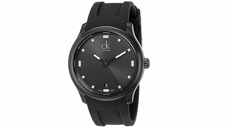 dong ho nam- Calvin-Klein-Mens-K2V214D1-Swiss-Quartz-Watch- elle man