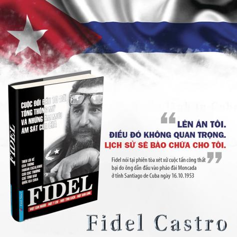 sach hay nguyen thu quoc gia - Fidel Castro - elle man