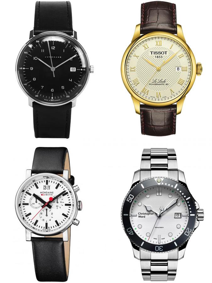 phong cách thời trang - đồng hồ Thụy sĩ - ELLE Man