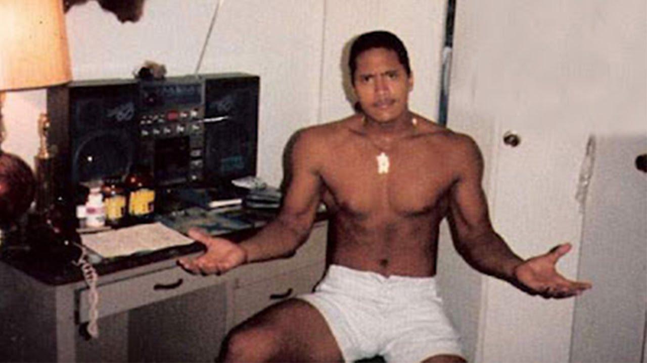 Chàng thiếu niên Dwayne Johnson. Ảnh: trend-chaser.com