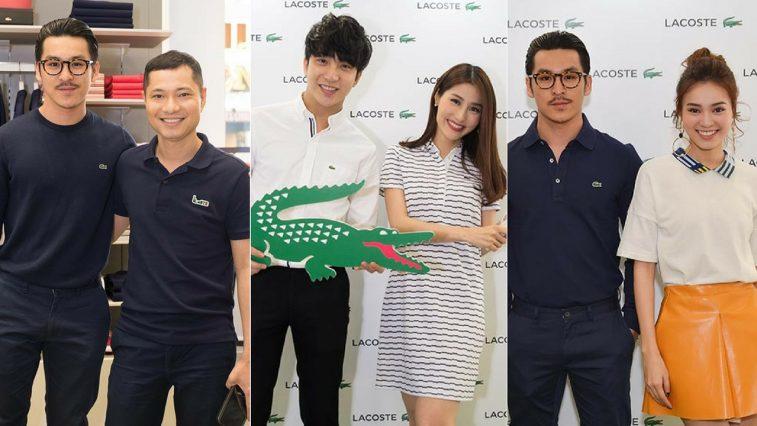 Dàn sao Việt tham dự buổi khai trương cửa hàng mới nhất của thương hiệu Lacoste