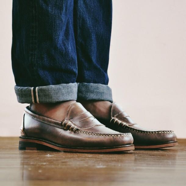 giay loafer nam - penny loafer - elle man 2