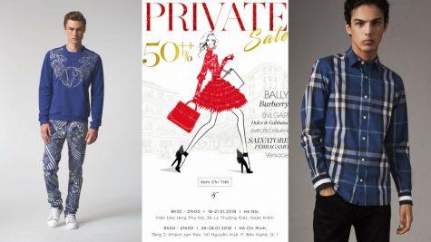 Private Sale 2018: Đại tiệc giảm giá của hàng trăm thương hiệu hàng đầu