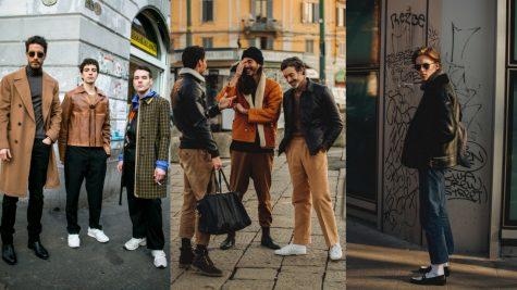 Thời trang đường phố ấn tượng tại Tuần lễ thời trang nam Milan Thu-Đông 2018