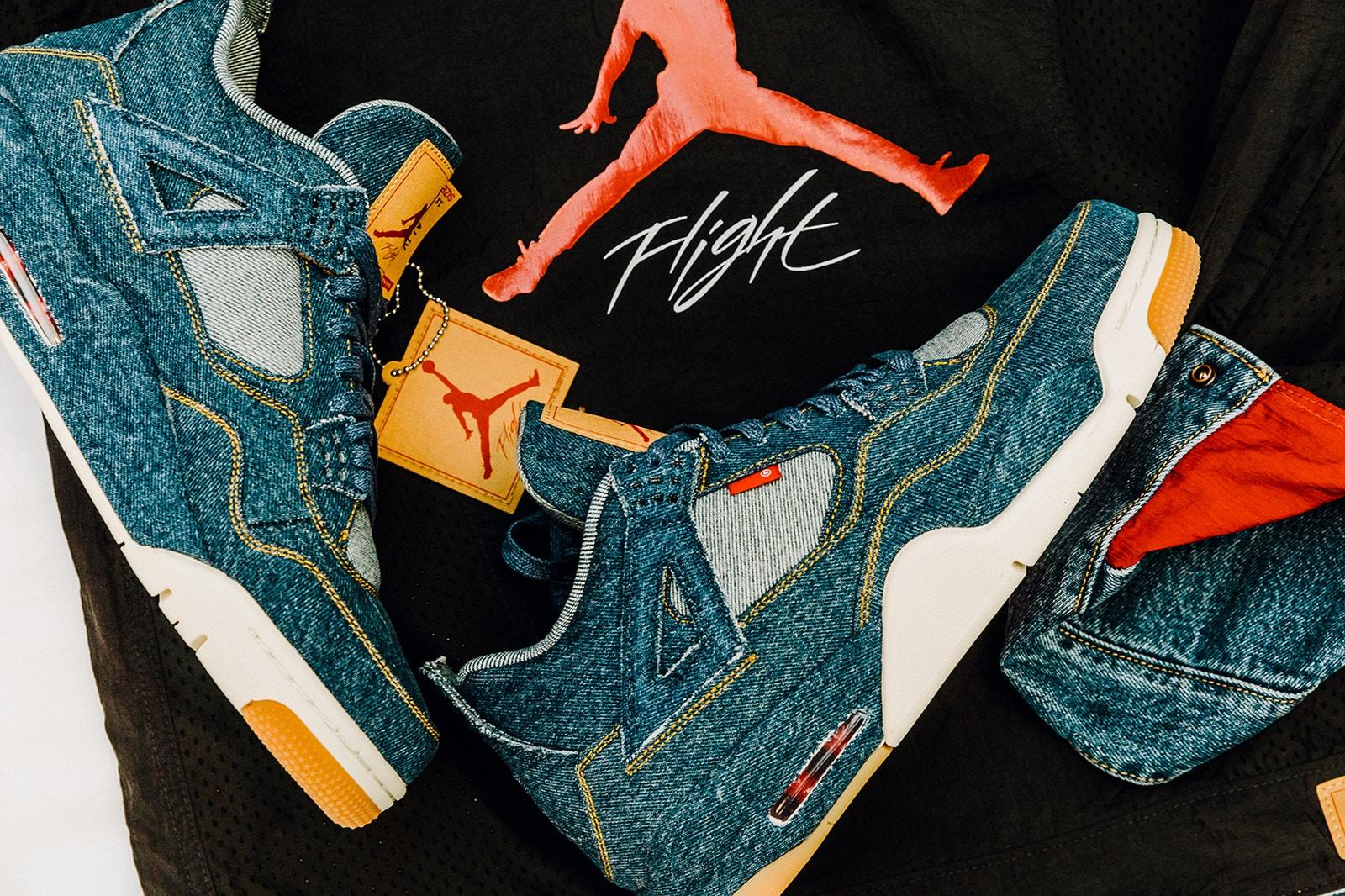 Jordan Brand x Levi's® Air Jordan 4