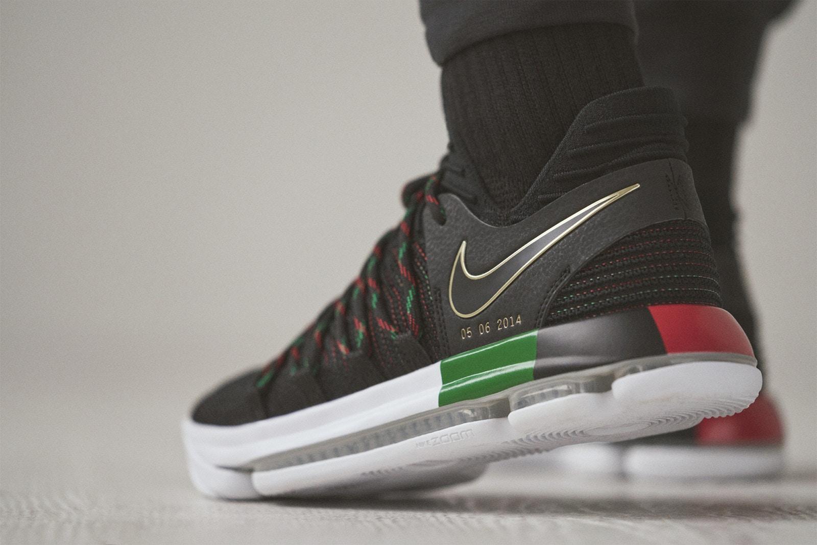 "Nike KD 10 tronng BST ""BHM"" 2018"