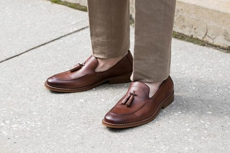 giay loafer nam credit the idle man - elle man 7