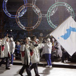 Hàn Quốc và Triều Tiên cùng sát cánh tại Olympic mùa Đông 2018