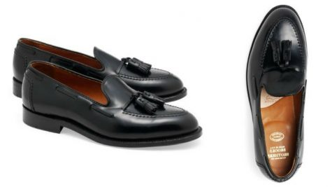 12 thuong hieu giay loafer nam Brooks Brothers Cordovan Tassel Loafers GBP740 - elle man