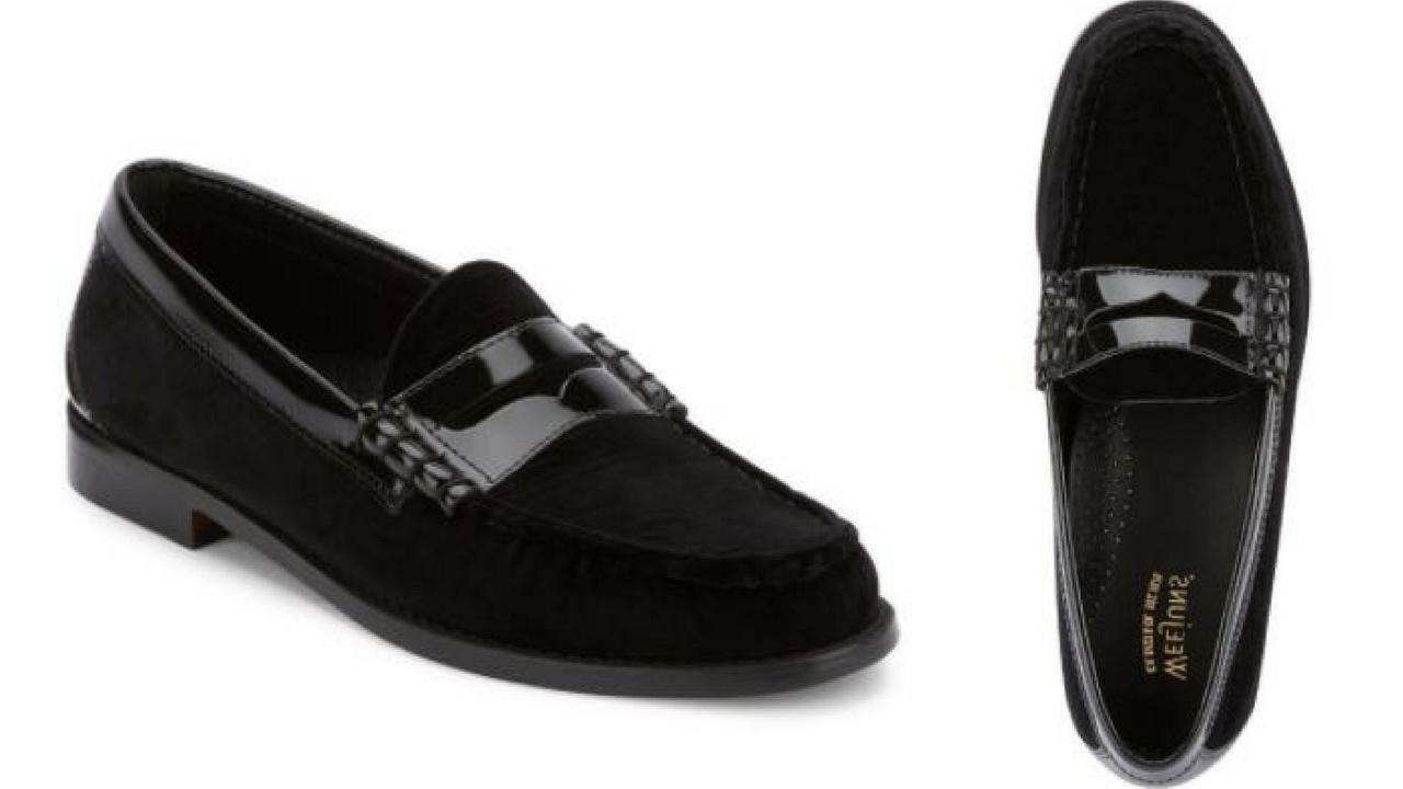 12 thuong hieu giay loafer nam G.H.Bass&Co. Larson Velvet Weejuns - elle man