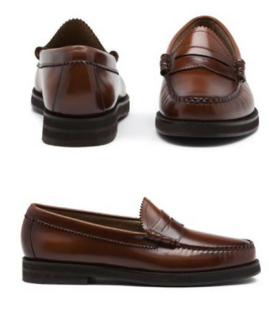 12 thuong hieu giay loafer nam G.H.Bass&Co. winter Larson Weejuns - elle man