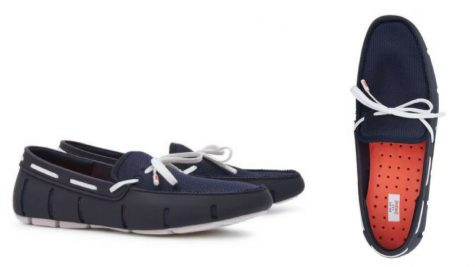 12 thuong hieu giay loafer nam Reiss swim penny loafer GBP 105 - elle man