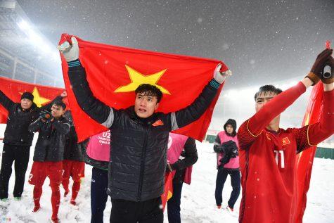 """Đội tuyển U23 Việt Nam và """"phần thưởng"""" thực sự cho quê nhà"""