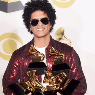 Bruno Mars chiến thắng không thuyết phục tại Grammy 2018?