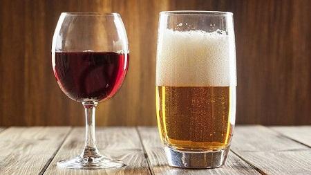 Uống nhiều rượu bia không tốt