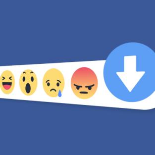 """Facebook sắp sửa trình làng """"nút không thích"""" ?"""