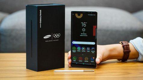 Chiếc Galaxy note 8 phiên bản Olympic