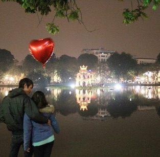 Địa điểm hẹn hò lý Valentine tưởng tại Hà Thành