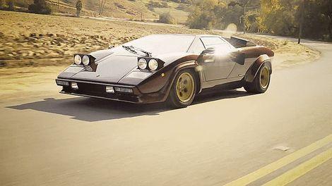 Siêu xe hơi đẹp tuyệt vời Lamborghini Countach