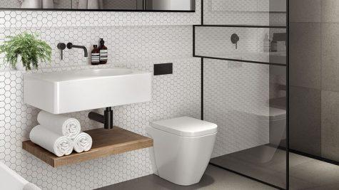 Phòng tắm đẹp: Nhỏ nhưng vẫn có thể là tuyệt tác !