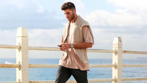 Một chiếc áo thun hồng đầy năng động đầy nam tính