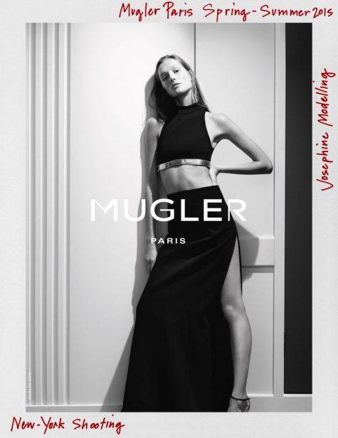 Mugler vắng mặt tại Tuần lễ thời trang Paris với nhà thiết kế mới Casey Cadwallader. (Ảnh: Thesocietymanagement.com)