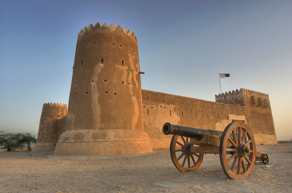 du lịch qatar - Pháo đài Zubarah - elle man 1