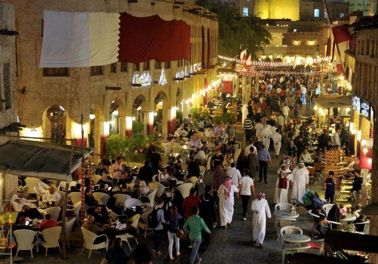 du lịch qatar - Souq Waqif - elle man 2